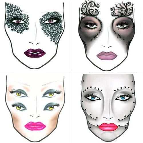 Как сделать маску на хэллоуин для мальчика 190