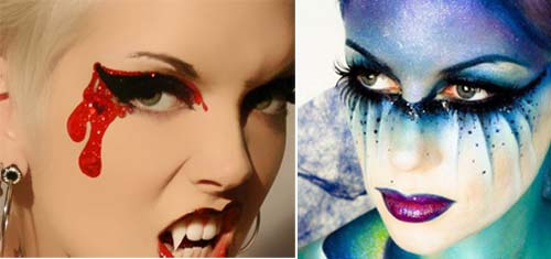Как разрисовать лицо на Хэллоуин: варианты грима, самые популярные рисунки