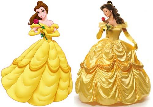Мультфильм платья для принцессы