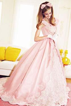 Описание свадебных платьев на барби