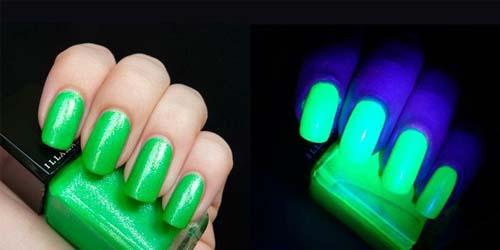 Светящиеся лаки для ногтей