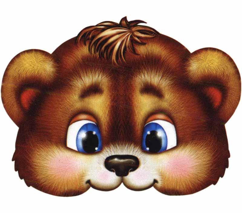 Сделать маску медведя своими руками