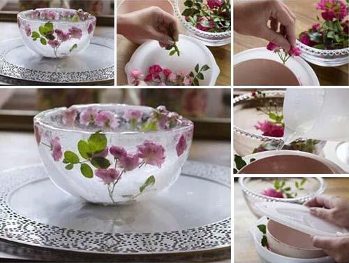 Декор из посуды своими руками