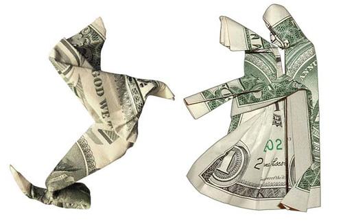 Маленькие денежные елочки