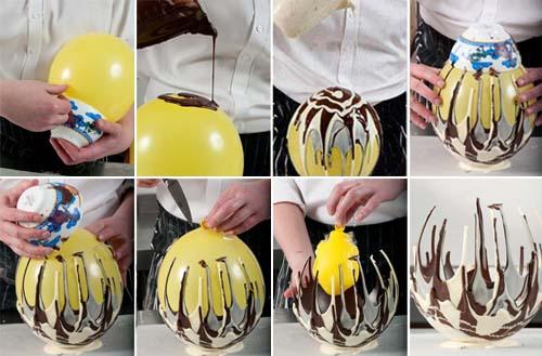 Шоколадная посуда своими руками 37