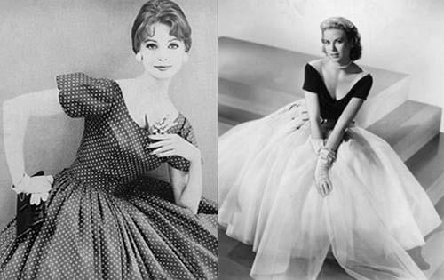 фото 50 х годов фото платья и прически