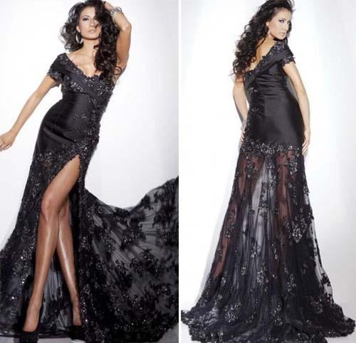 3448b4767cf Стильное вечернее платье